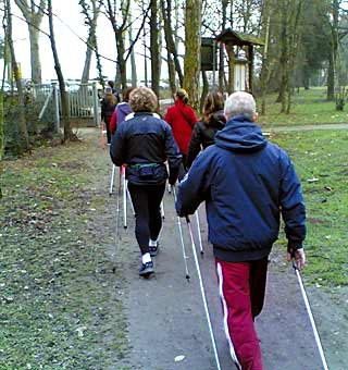 workout nordic walking treviso