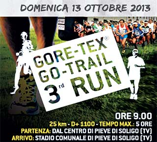 gore-tex go-trail run 2013 pieve di soligo