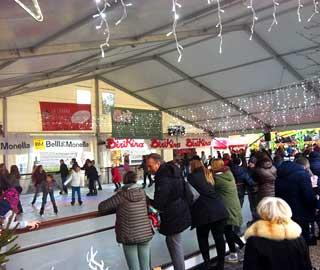 pista di pattinaggio su ghiaccio treviso