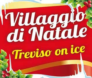 villaggio di natale treviso on ice mura di treviso 2016